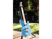 Charvel Pro Mod San Dimas MIJ Japan - Candy Blue with EVH D-TUNA