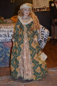 Tall china doll - unnamed