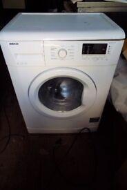 Beko washing machine 1400 spin 6 kilo load
