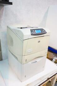 HP Laserjet 4300n Laser Printer, Only 49,000 Prints, 100% Toner, 1500 Page tray