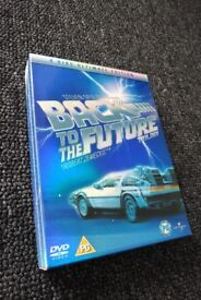 DVD Boxsets - Back To The Future Trilogy, Star Wars
