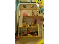 Wooden dolls house - Mothercare
