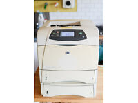 Details about HP LaserJet 4250dtn LJ4250dtn A4 Workgroup Network Printer + Tray, Duplex MS