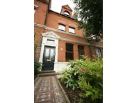 Quiet, bright and spacious double room in lovely 3-bedroom house opposite West Ham Park