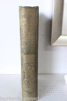 HARMSWORTH HISTORY OF THE WORLD VOLUME 3° / VECCHIO LIBRO INGLESE ANNO 1908