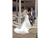 Designer, Sophia Tolli Wedding dress. Fabulous detail and quality