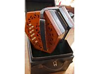 Concertina Lachenal & Co in C&G keys