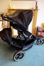 Phil & Teds Explorer Buggy/Pushchair with double kit
