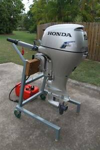 HONDA 15 Horse Power Short Leg Outboard Motor Park Ridge South Logan Area Preview