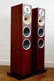 Bowers & Wilkins CM8 Floor standing Speakers Cherry Wood B&W Not CM9 CM10 683 604 804 £699