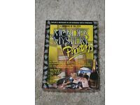 """MURDER MYSTERY GAME, """"MURDER IN THE PITS"""" For 8 players."""
