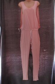 Pink Jumpsuit for sale size 8-10 - NEW WITH TAGS, ONLY £15