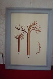 FRAMED PAINTING LARGE SIZE 4 FOOT BY 3 FOOT