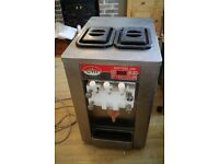 table top Italian made Commercial ice cream machine large barrel