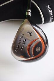 Golf listings coming
