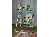 Fisher Price Baby Swing - hardly used - excellent condition.