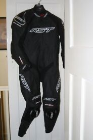 RST Motorbike all-in-one leathers.