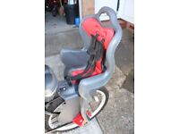 Great Bike seat for toddler