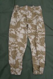 New - Rare, Desert BDU Combat Trousers, (made for Jordanian or Libya Army)