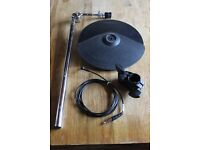 Roland CY-8 Cymbal Trigger Pad Boxed with MDY cymbal arm, mount and cable CY8