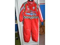 Disney Cars all in one jumpsuit age 3-4