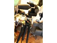 Manfrotto pro Tripod 190 X PROB + 804RC2 tripod 3way head