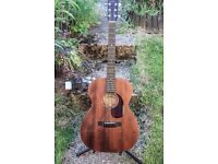 Sigma S000M-15 Electro Acoustic ALL SOLID comes with official case