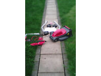 New boxed Soveriegn Lawnmower it has been assembled for testing only,..