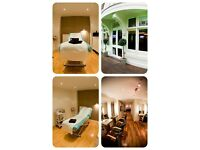 Treatment/ beauty room for rent in well established waxing and hair salon in Glasgow city centre.