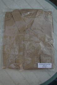 New - Middle Eastern Military - Khaki BDU 4 Pocket Lightweight Shirt / Jacket - XL