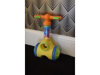 Tomy Pic 'n Pop Play to Learn Push Along Walker Toy