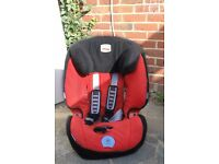 Used Britax King Plus Car Seat in Lisa in almost brand new condition.