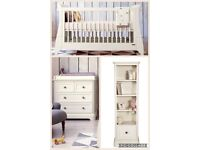 Mamas and Papas unisex 'orchard' Nursery Furniture Cotbed/chest of drawers/tall boy