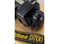 Nikon D700 boxed & in excellent condition with only 71K shutter Full frame digital slr camera