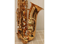 Jupiter 767 alto saxophone in near mint condition