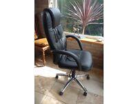 Gas Lift Swivel High Back Office Chair