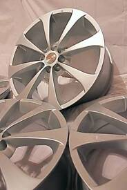 "17"" inch 100+ Team dynamics alloy wheels 4x100 4x108 Astra Corsa Civic Mx5 Clio Polo BMW Mini Fiesta"