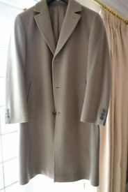 GENTLEMENS GENUINE CASHMERE COAT Size 40/42 Chest