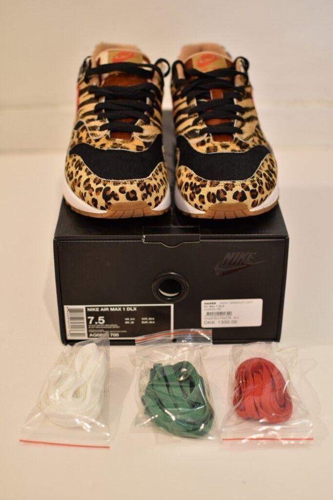 Nike Air Max 1 Atmos Animal Pack 2.0 UK 6.5. Hackney 3c8b53643