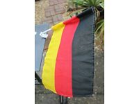 GERMANY CAR MOUNTED NATIONAL FLAG