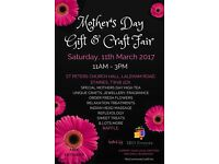 Mother's Day Gift & Craft Fair - a day full of treats and gifts ideas for your Special Mum!
