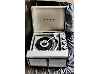 Bush SRP41 Vintage Record Player with Singles & Albums
