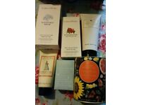 Crabtree & Evelyn gift set with gift bag. Brand new, unopened items