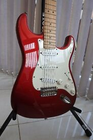 Fender American Special Stratocaster With Seymour Duncan Lil 59 Humbucker