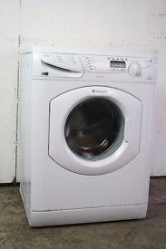 Hotpoint 7kg 1400 Spin Washing Machine Digital Display Good Condition 6 Month Warranty