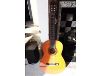 Valencia CG160 acoustic guitar 3/4 with bag. Hardly used.