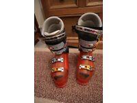 Mens Ski Boots - Salomon Pro Model Gun - size UK 10 - Monde point 28.5