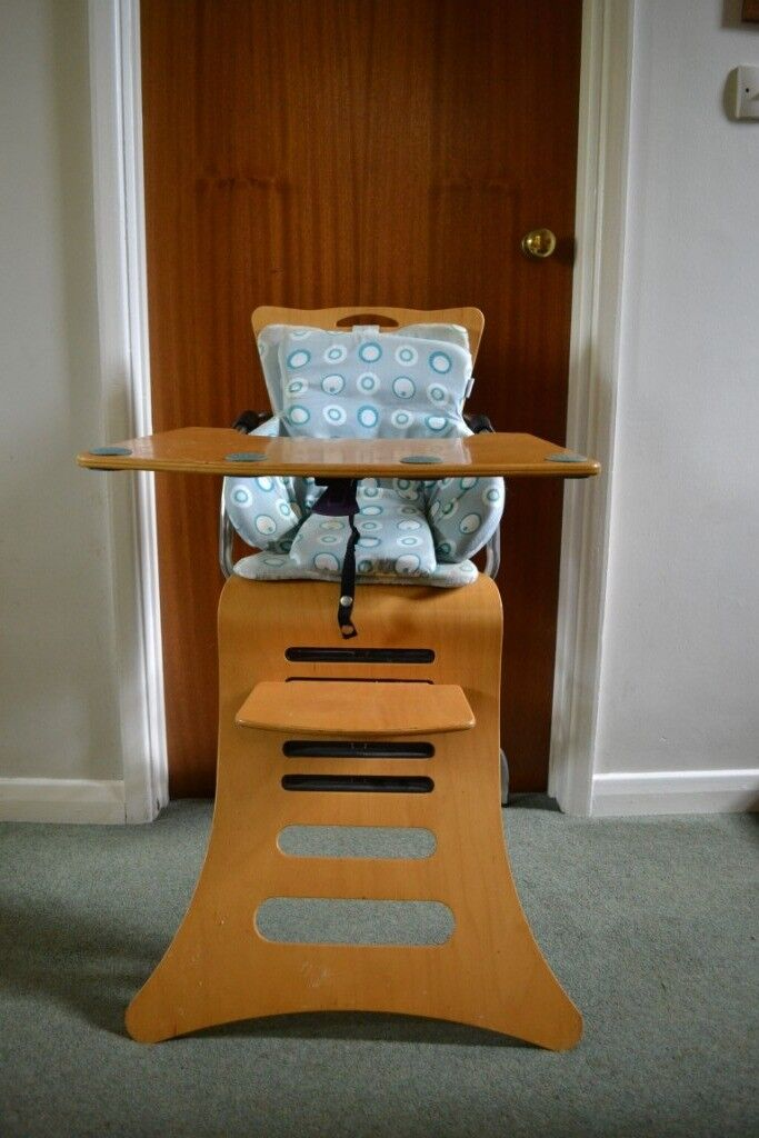 Wooden High Chair With Removable Tray In Norwich Norfolk Gumtree
