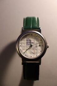 ATTENTION GOLFERS -- NEW, Boxed & Unworn AIB (Allied Irish Bank)Irish Seniors OPEN - Golfball Watch