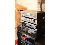 hifi phillips 840 CD Sony st-sb920 tuner sony mds je510 minidisc and yamaha kx500 cassett deck